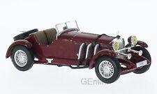 Whitebox WHT204 - Mercedes SSK cabriolet rouge foncé - 1928   1/43