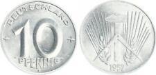 DDR 10 Pfennig  1952 E prägefrisch seltenes Jahr (3) prägefrisch