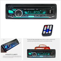 Car Stereo Radio FM MP3/USB/SD/AUX Audio Bluetooth 1 Din Player Remote Control