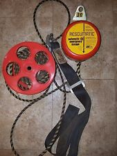 RTC RESCUMATIC AUTOMATIC EMERGENCY ESCAPE RESCUE DESCENT CONTROL HARNESS 300 LBS