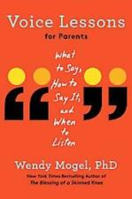 VOICE LESSONS FOR PARENTS - MOGEL, WENDY - NEW HARDCOVER