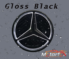 MERCEDES BENZ LED EMBLEM GLOSS BLACK STAR LOGO BADGE  FRONT GRILL  2011-2019