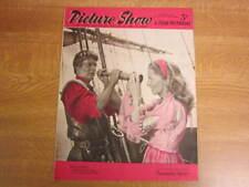 February 14th 1953, PICTURE SHOW, Louis Jourdan, Jean Hagen, Ralph Meeker.