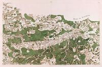 MAP ANTIQUE CASSINI FRANCE 18TH CENTURY ARDENNES REPLICA POSTER PRINT PAM0749