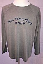 Walt Disney World Mens Vintage EST. 1971 Graphic Long Sleeve T-shirt Size Large