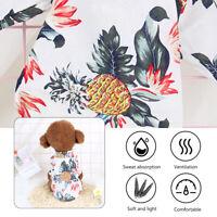 Summer New Pet Dog Cat Puppy Hawaiian Beach Shirt Apparel Costumes XS-2XL BO