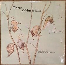 THREE MUSICIANS Music From The Rochester Folk Art Guild '77 LP folk psych trance