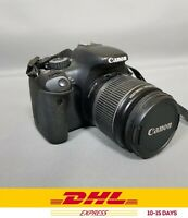 Canon EOS Rebel Canon EOS Rebel 550D 12.2 Digital SLR Camera - Black 18-55mm👍👍