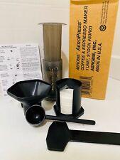 Aerobie AeroPress Coffee & Espresso Maker with Filters & instructions USA Made