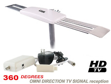 OMNI-DIRECTIONAL DIGITAL HD ANTENNA HDTV UHF DTV INDOOR OUTDOOR RV OTA CAMPING