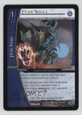 2005 VS System DC Batman Starter Deck Base #DBM-025 Fear Skull Gaming Card q0l