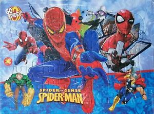 Go Spidey Spider-man Drawing 40 Pieces Jigsaw Puzzles Best Gifts for Kids