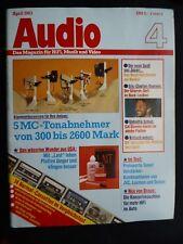 Audio 4/83 rauna Njord, DENON TU 750s, PMA 730,jvc t30l, a x40, LUXMAN T 210l, L 230