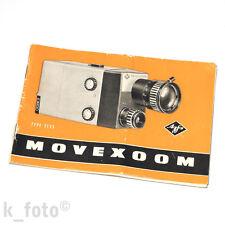 Agfa Movexoom Bedienungsanleitung * manual