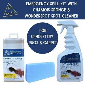 Fabric Rug Carpet Spot Cleaner Spot Cleaning Kit with Super Absorbent Chamois