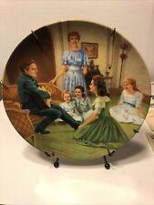 1987 Sound of Music Collector's Plate #5 Edelweiss Original Box & Coa
