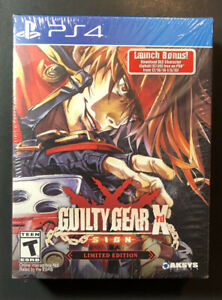 Guilty Gear Xrd SIGN [ Limited Edition ] (PS4) NEW