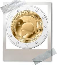 2 EURO *** Grèce 2020 Griekenland ***  Thermopylae Bataille de Thermopyle !!!