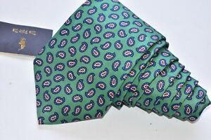 """Polo by Ralph Lauren   Men's Neck Tie W: 3 1/2 """" by L:58 """" made in ITALY """"NEW"""""""