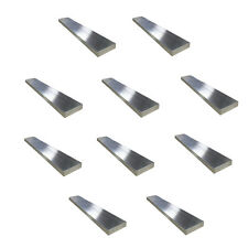 "10 pcs-1/4"" x 1/2"" Aluminum Flat Bar, 6061 Plate, 12"" Length, Mill Stock, 0.25"""