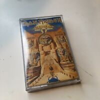 Iron Maiden Powerslave Cassette!! Good Condition Very Rare!! Bruce Dickinson!!
