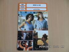 CARTE FICHE CINEMA 1991 MERCI LA VIE Charlotte Gainsbourg Anouk Grinberg M.Blanc