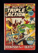 Marvel Triple Action Books #3, #11, #12 Stan Lee, Jack Kirby, Gil Kane