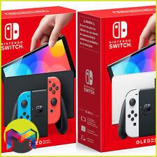 Nintendo Switch Konsole OLED-Modell - 64GB Neon Rot & Blau oder Weiß NEU OVP