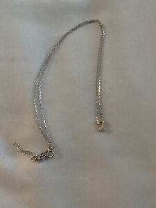 Dogeared Numerology Necklace - 2 (two) 925 silver & gold plated - dainty chain