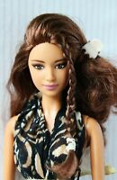Barbie Doll Ballet Wishes Hispanic Brunette Hybrid Articulated Redressed Rare