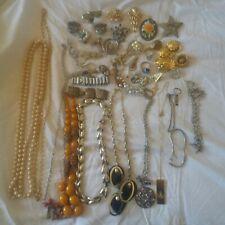 Sellable Job Lot Of Vintage Costume Jewellery Ebay Stock Resale