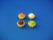 Lego Friends accessoires - 4 cupcakes Neufs New REF 93082g 4073