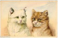 Postcard Cats Artist-Signed M.B. Cooper Pretty Green Eyes