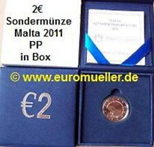 2 Euro Gedenkmünze Malta 2011 - Wahl der 1. Abgeordneten - PP