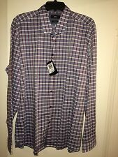 NWT MENS HUGO BOSS LOK LONG SLEEVE XXL SHIRT MSRP $145.00 BRAND NEW