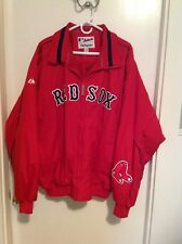 AUTHENTIC MAJESTIC RED SOX JACKET ~ XXL