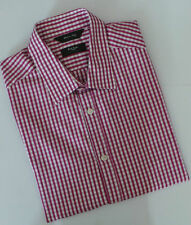 Paul Smith Shirt Size 15.5 Medium Check Tailored Fit