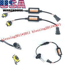 2x EMC 880 893 Fog Light Canbus LED Decoder Load Resistors Warning Canceller