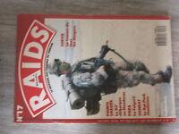 $$a Revue Raids N°17 Trousse de tous les dangers  82e Honduras  Folgore  RatPack