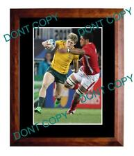 JAMES O'CONNOR WALLABIES STAR RUGBY LARGE A3 PHOTO 2