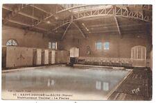 saint-honoré-les-bains , établissement thermal , la piscine
