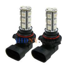 2x 9006 HB4 18 SMD 5050 LED Fog Lights DRL Driving Lamp Blue Color Strobe