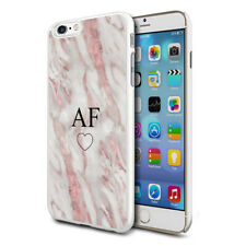 Personalised Marble Phone Case Cover For Apple Samsung Initial Name - Ref B02
