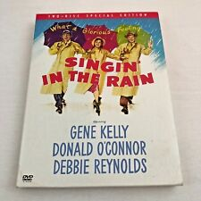 Singin In The Rain Dvd 2002 Special Edition Gene Kelly Reynolds 2-Disc Set