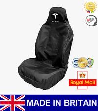 TESLA CAR SEAT COVER PROTECTOR SPORTS BUCKET HEAVY DUTY WATERPROOF - MODEL S