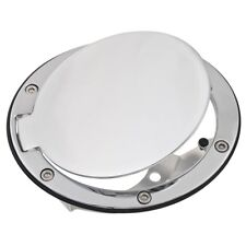 Mazda MX5 Mk1 Fuel filler lid kit Chrome NEW part number 904-172 Moss Europe