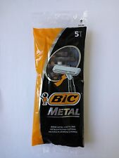 50 Pcs  Bic Metal razors Single Blade NEW 10X5 PCS