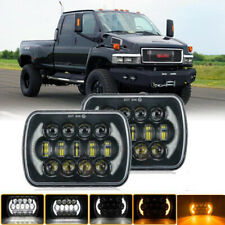 Pair LED Headlight Sealed High + Low Beam fit for GMC TopKick C4500 C5500 Trucks