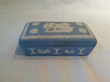 kleine Miniatur Wedgwood Wedgewood Jasperware Deckeldose Sammlungsauflösung Nr 3