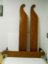 Vintage Old Town Canoe Wood Lee Boards & Stabilizer Board 55' Sail Rig Boat Nos